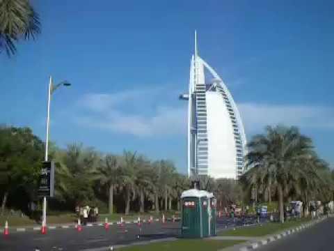 Burj Al Arab in Dubai MARATHON