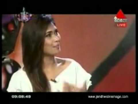 Funny Clip Janith Wickramage & Anarkali Akarsha