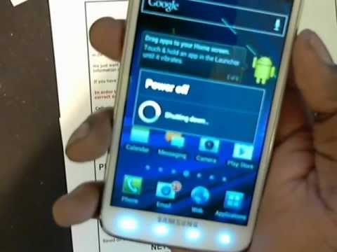 Unlocking At&T Samsung Galaxy S2 Skyrocket by Network Control Key Unlock Code