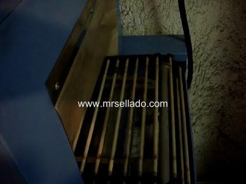 Túnel de Encogimiento para Sellos de Garantía, PVC termoencogible y Poliolefina