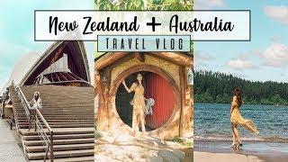 New Zealand Australia Travel Vlog 2018 || Picture Perfect Photos Kkarmalove