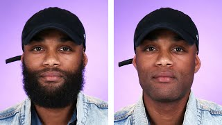 Bearded Men Try Going Clean-Shaven