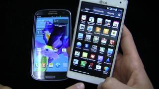 LG Optimus 4X HD vs. Samsung Galaxy S III Dogfight Part 1
