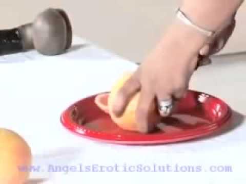 Angel Teaching Her Grapefruit Technique Blow Job video