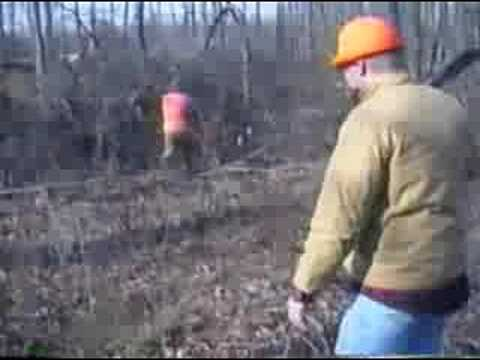 Rabbit Hunting Versailles Indiana Video