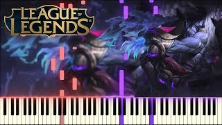 Sylas Theme - League Of Legends - Synthesia Piano Tutorial