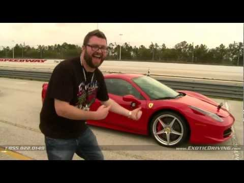 Kyle Petty & Rutledge Wood of SPEED TV - Exotic Driving Experience