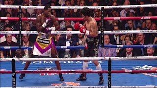 Manny Pacquiao vs Adrien Broner Highlights Recap