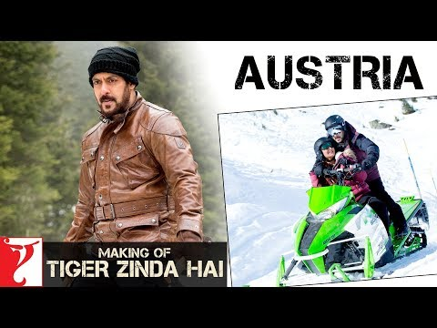 Making of Tiger Zinda Hai in Austria | Salman Khan | Katrina Kaif | Ali Abbas Zafar