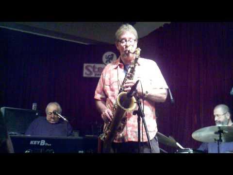 Steve Wilkerson's Vintage Sound on a Vintage Horn at Steamers 1-15-11.3gp