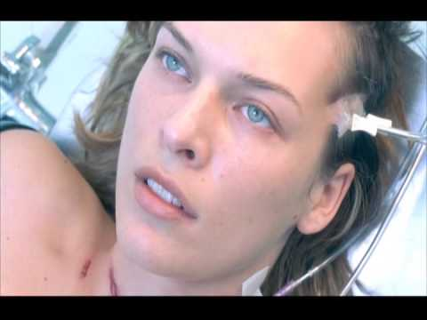 Milla Jovovich (another waking up) Resident Evil