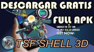 Descargar TSF Shell 3D Launcher - Android - full apk Gratis