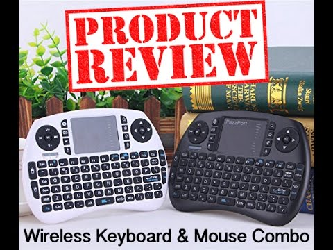 SROCKER KB502 Mini Wireless Rechargeable 3 in 1 Keyboard with Mouse REVIEW