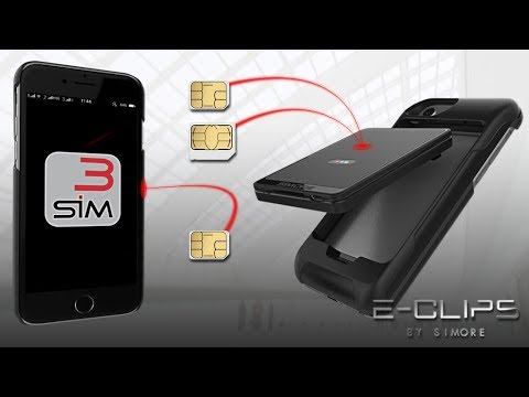 iPhone 7 Triple Dual SIM simultaneous bluetooth adapter with 2 or 3 SIMs active at the same time