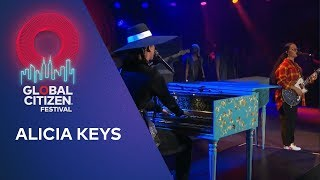Alicia Keys performs Dream On with H.E.R. | Global Citizen Festival NYC 2019