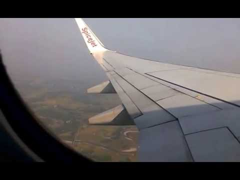 Spicejet 737-800 Afternoon takeoff at Baghdogra (IXB/VEBD)