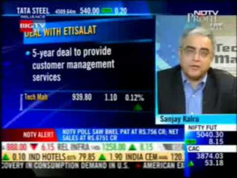 (Part 2/2) Sanjay Kalra, CEO, Tech Mahindra on NDTV Profit Power Lunch