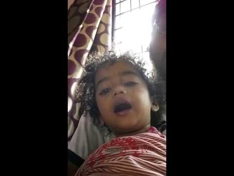Charith Rhymes Chitti Chilakamma video