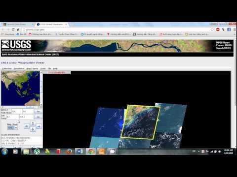 Cách DOWNLOAD Ảnh LANDSAT từ trang web   http://glovis.usgs.gov