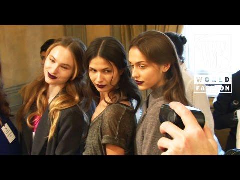 Luisa Beccaria Fall-Winter 15-16 Milan Fashion Week
