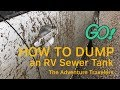 How to Empty the Black & Grey Tanks in an RV or Camper