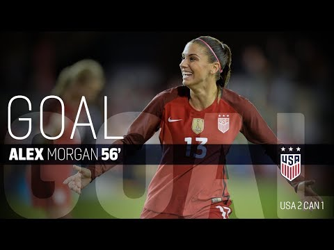 WNT vs. Canada: Alex Morgan Goal - Nov. 12, 2017