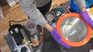 Vacuum Chamber Unboxing and Mold Making