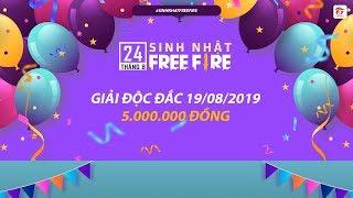 [Độc Đắc 5 Triệu Đồng] Truy Tìm Triệu Phú - Ngày 19.08.2019 | Garena Free Fire