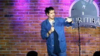 Afonso Padilha - Improvisos com a Platéia - Argentinos e Curitibanos - Stand-Up Comedy