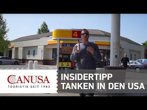 Tipp: Zum Tanken In Den USA | CANUSA TOURISTIK