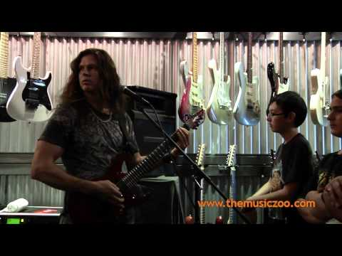 David Ellefson And Chris Broderick Megadeth Clinic At The Music Zoo 2011