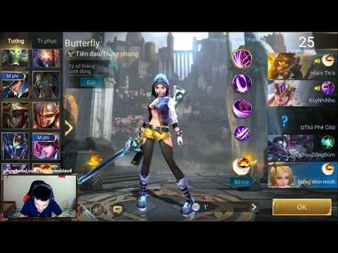 Trang phục mới Butterfly Teen nữ công nghệ - Tiền Zombie v4