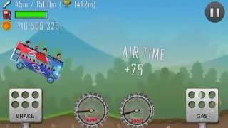 Hill Climb Racing v1.23.0 with new driver and passengers