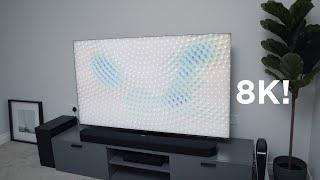 02. The Samsung QLED 8K TV Setup