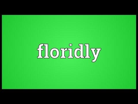 Header of floridly