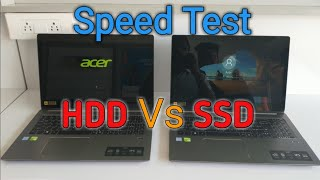 M.2 NVME Vs SSD Speed test Acer Swift 3||srlaptopcare||
