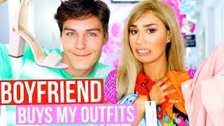 I LET MY BOYFRIEND BUY ME CLOTHES AND PICK MY OUTFITS  | MyLifeAsEva by : MyLifeAsEva