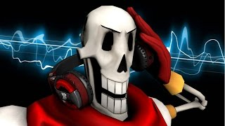 [SFM/Undertale/Music] - Papyrus Makes A Mixtape Animated -