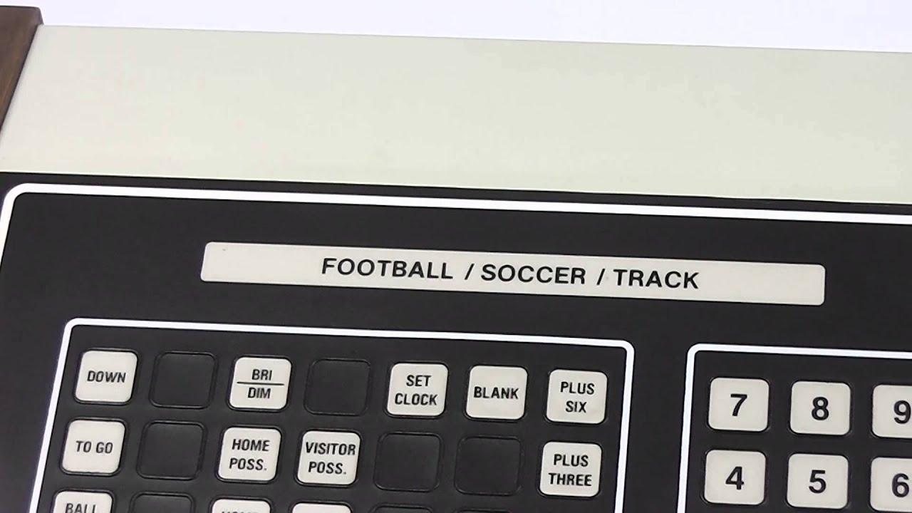 Scoreboard Controller Scoreboard Controller