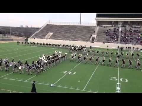 Aggie Band Cotton Bowl Drill - practice session