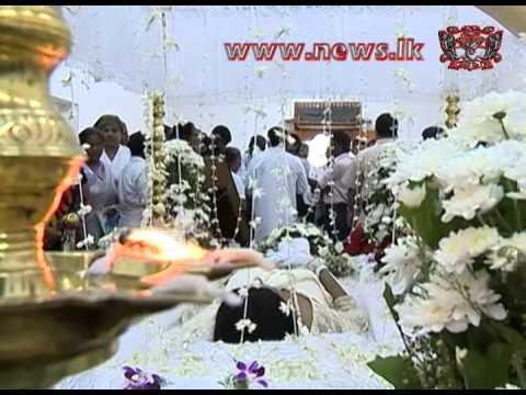 Rebeka Nirmali Funeral