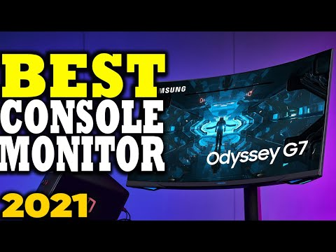 Best Monitors for Consoles in 2021 | Monitors for Xbox Series X & PS5