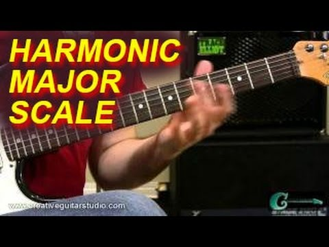 GUITAR THEORY: Discovering the Harmonic Major Scale