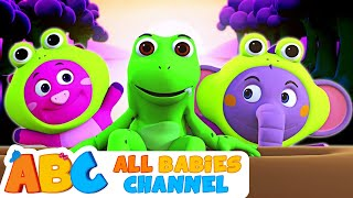 Funny Frogs Song | 3D Original Song | Learn Numbers For Kids | Nursery Rhymes For Kids | Baby Songs