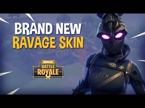 Ninja Spotlight New Ravage Skin Fortnite Battle Royale