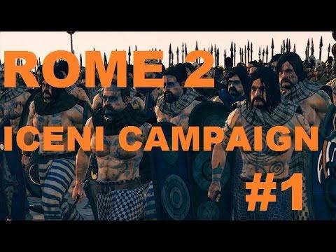 Total War: Rome 2- Iceni Campaign #1 ~ Poor Politics