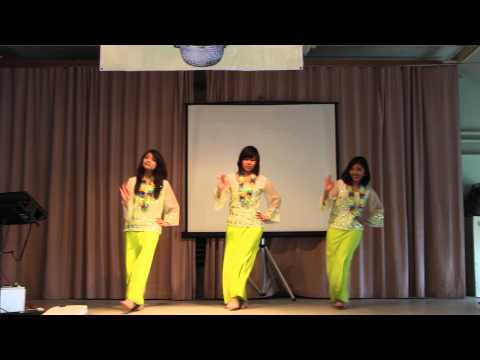 (HD) Basic Myanmar Dance - Cambridge UK Burmese Thingyan Event 2013