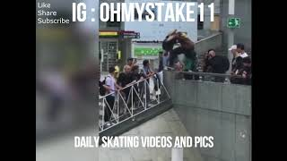 Best SkateBoard Trick , This Guy want to kill her self .