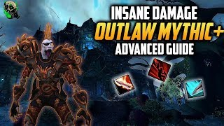 How to Outlaw Rogue Mythic+ Guide 8.1.5 - Advanced - World of Warcraft