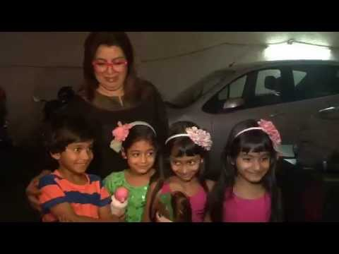Farha KI Dawat Farah Khan With Kids